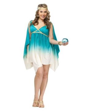 Calypso, Goddess of the Sea plus size Adult Costume