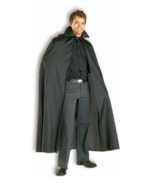 Black Cape Adult Costume