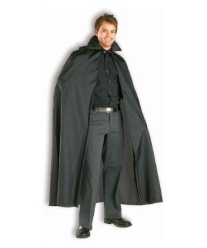Black Cape Adult Costume