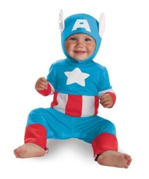 Captain America Kutie Baby Costume