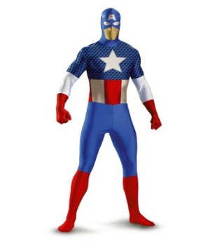 Captain American Adult Costume deluxe