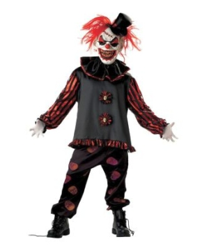 Carver the Clown Boys Costume