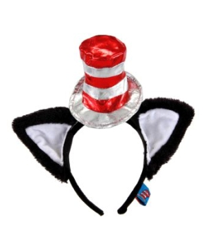 Cat in the Hat Adult Headband deluxe
