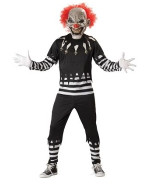Creepy Clown Adult Costume