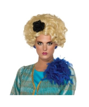 Hunger Games Chaperone Adult Wig