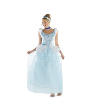 Cinderella deluxe Adult plus Disney Costume