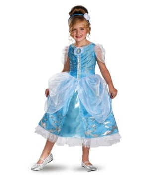 Cinderella Sparkle Disney Girls Costume deluxe