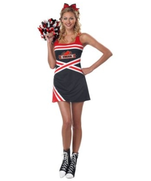 Classic Cheerleader Womens Costume