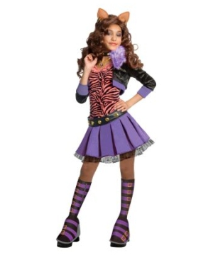 Clawdeen Wolf Girls Costume deluxe