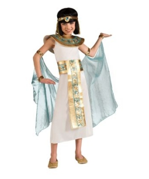 Classic Cleopatra Girls Egyptian Costume