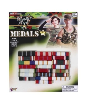 Combat Hero Medal Bars