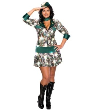Commando Adult Costume plus size