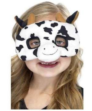 Cow Plush Kids Mask