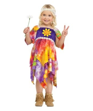 Daisy Hippie Toddler Costume