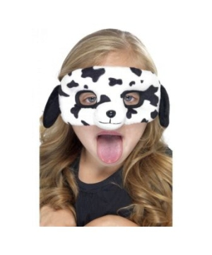 Dalmatian Plush Kids Mask