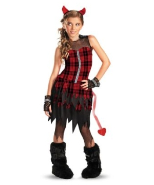 Devil Tude Kids/teen Costume