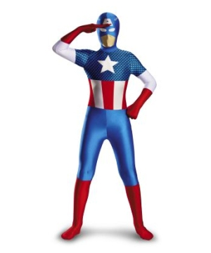 Captain American Kids/ Teen Costume deluxe