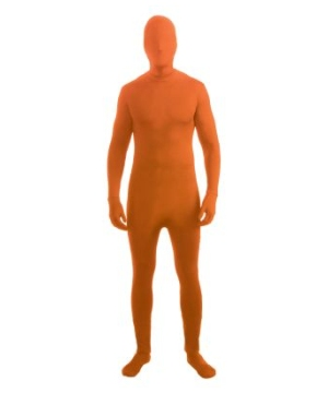 Disappearing Man Adult Costume Neon Orange