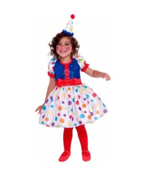 Dottie the Clown Toddler Girls Costume