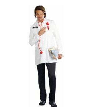 Dr. Oliver Clothesoff Adult Costume deluxe