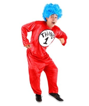 Dr. Seuss Thing 1 & 2 Unisex Adult Costume
