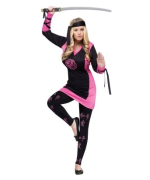 Dragon Ninja Women Costume