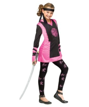 Oriental Dragon Ninja Kids Costume