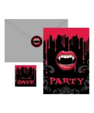 Fangtastic Halloween Invitations