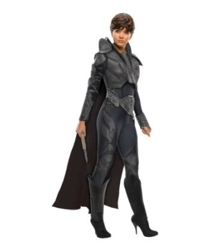Superman Man of Steel Faora Women Costume deluxe