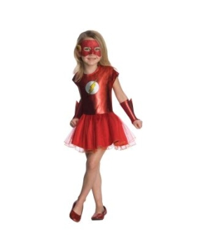 Flash Tutu Kids Costume