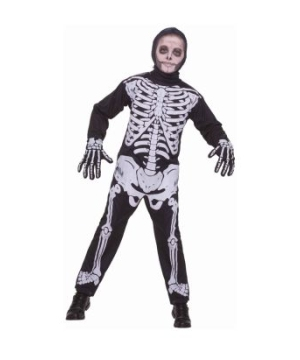Skeleton Boy Kids Costume