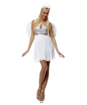 Angelicious Adult Costume