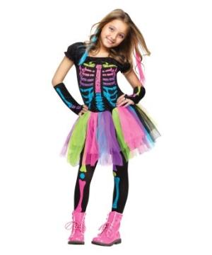 Funky Punky Bones Kids & Tween Costume