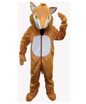 Furry Fox Mascot Adult Costume