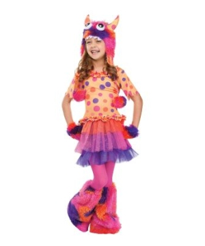 Fuzzy Fifi Orange Kids Costume