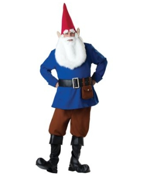 Garden Gnome Men Costume deluxe