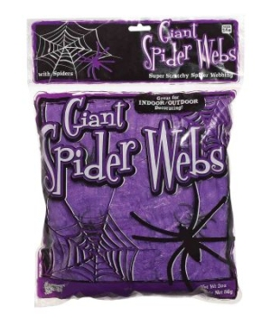Giant Spider Webs Halloween Decoration