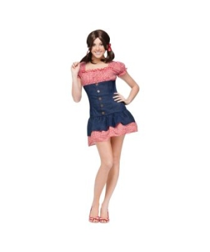 Gilligan's Island Maryann Adult Costume
