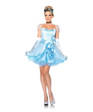 Glass Slipper Cinderella Womens Disney Costume deluxe