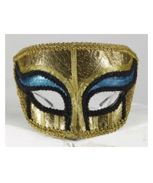 Gold Egyptian Masquerade Adult Mask