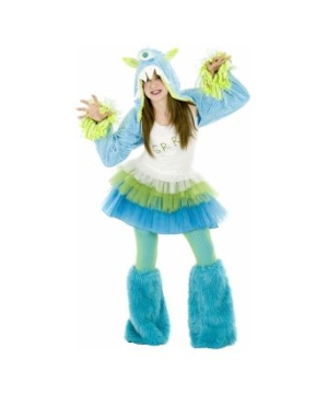Grrr Monster Teen Costume deluxe