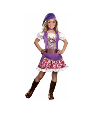Gypsy Princess Kids Costume deluxe