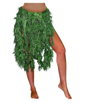 Happy Leaf Adult Skirt