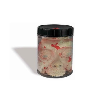 Head in Jar Halloween Decoration
