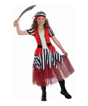High Seas Sweetheart Kids Costume