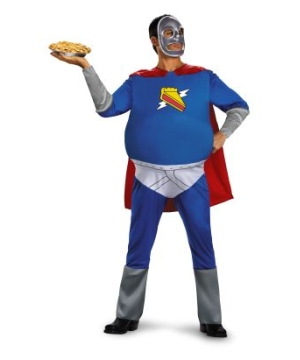 Homer Pie Man the Simpsons Adult Costume