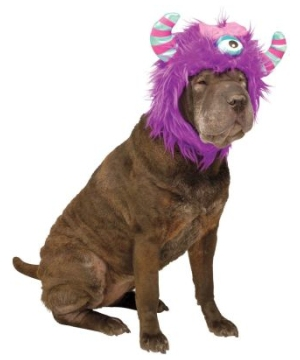 Hound Monster Purple Hoodie Dog Costume