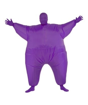 Inflatable Adult Costume Purple