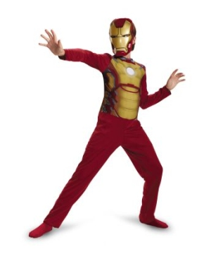 Iron Man Mark 42 Kids Costume