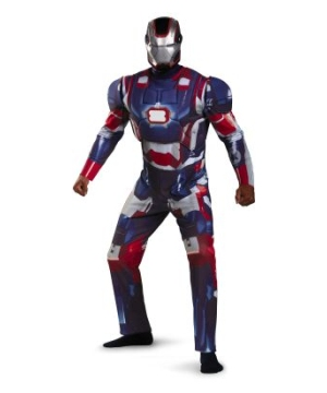 Iron Patriot Mens Costume deluxe